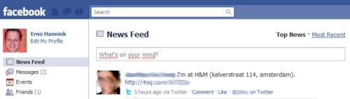 remove twitter status updates facebook Remove Twitter updates from your Facebook News Feed