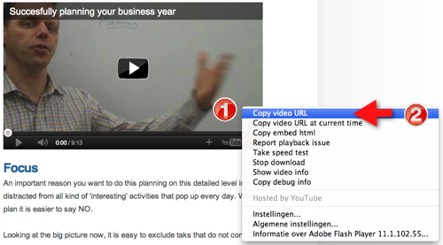 YouTube video in Facebook page in 3 easy steps