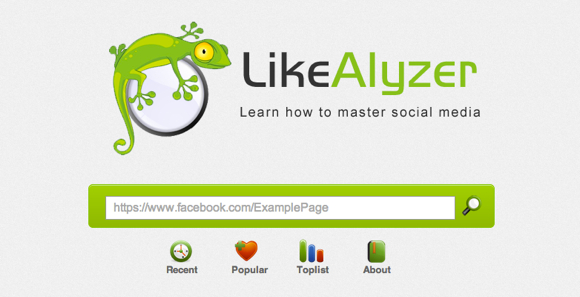 likealyzer 1 Tips and recommendations to improve your business Facebook page