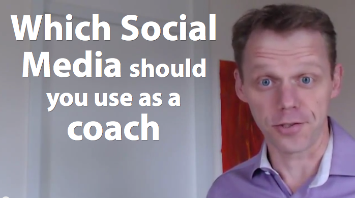 which social media to use for a coach