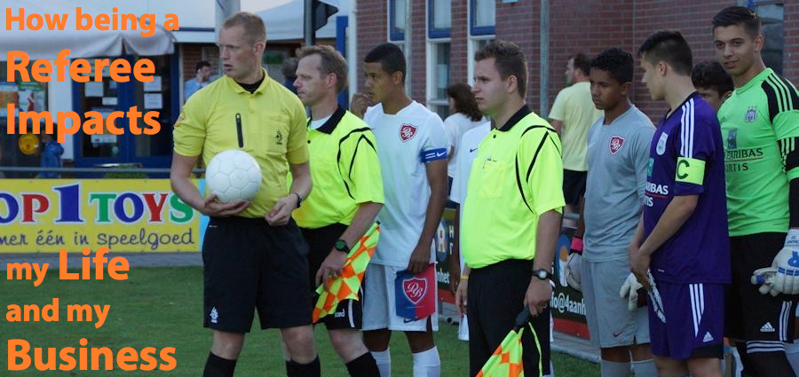referee arena business life