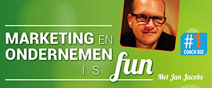 Luister naar Marketing en ondernemen is fun #1CoachBiz podcast
