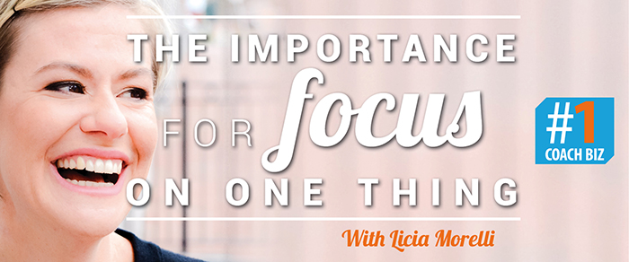 Listen to the interview with Licia Morelli #1CoachBiz podcast