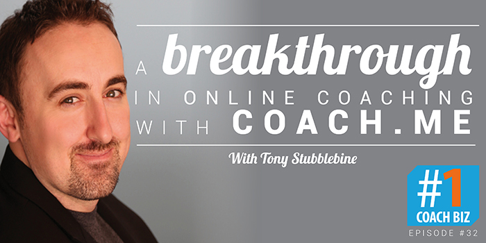 coach.me Tony Stubblebine